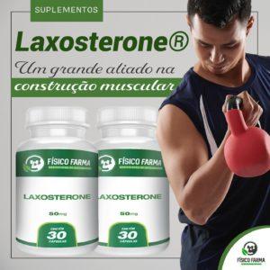 Laxosterone faz efeito semelhante a oxandrolona?