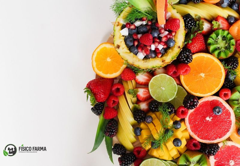 frutas e lanche malhar