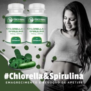 Chlorella e Spirulina: Emagrecimento e Redução do Apetite